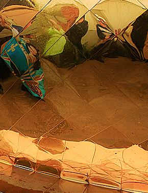 Совершен чин освящения купола и креста строящегося в честь святой мученицы Татианы храма при Сургутском государственном университете